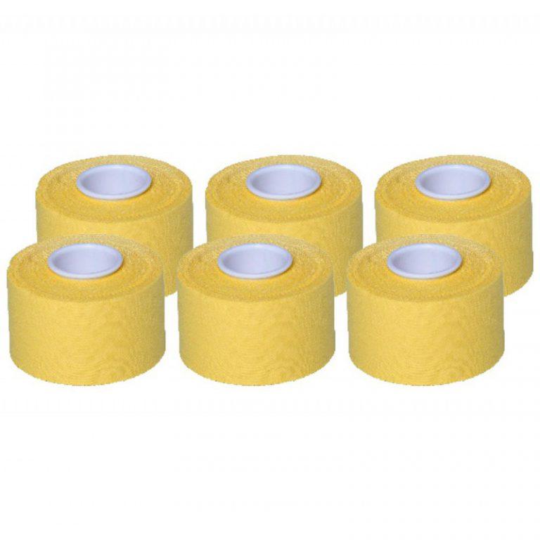 Cawila Sporttape Premium 3,8 cm x 10 m per 6 stuks-3309